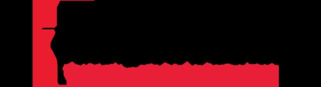 cross and flame logo and Arlington District name