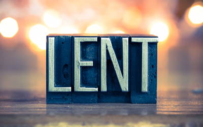 Leaning into Lent
