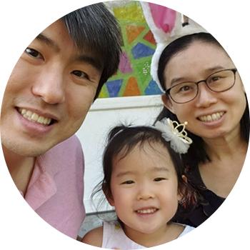 Headshot: Arum Kim and family