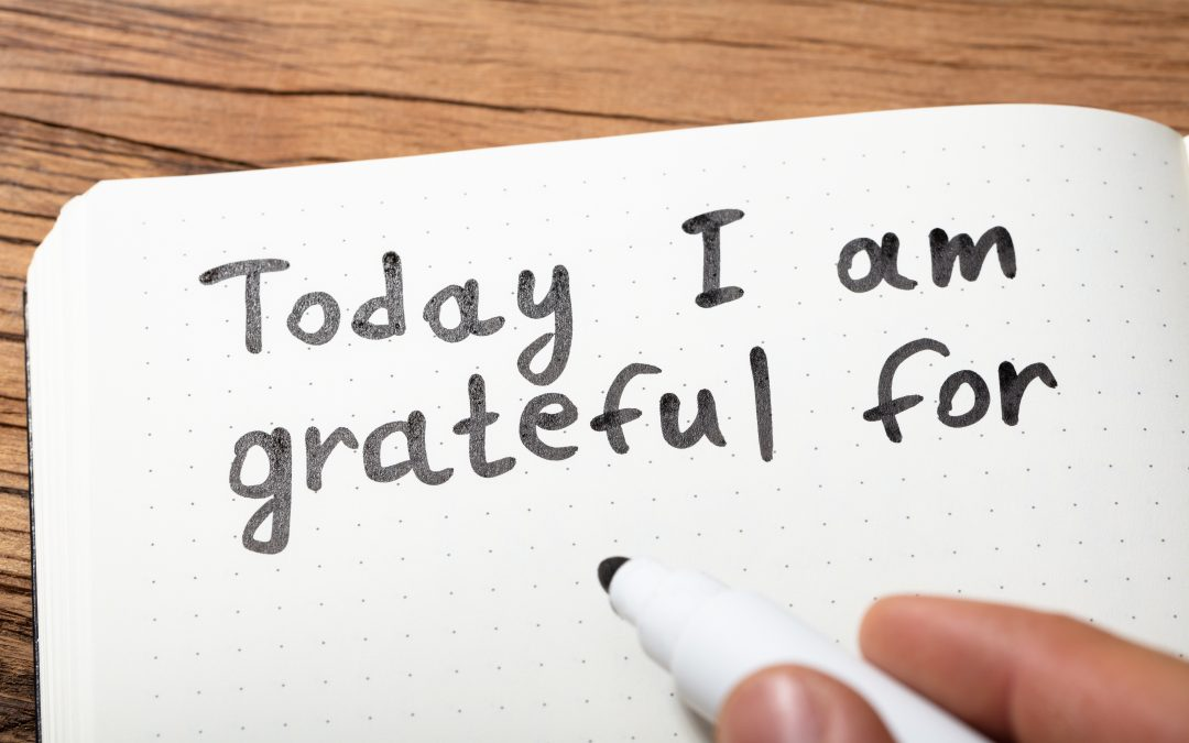 The Therapeutic Value of Being Thankful