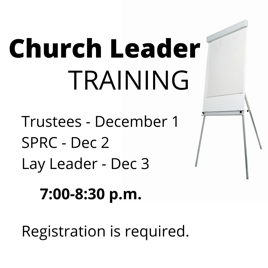 easel and words- church leader training