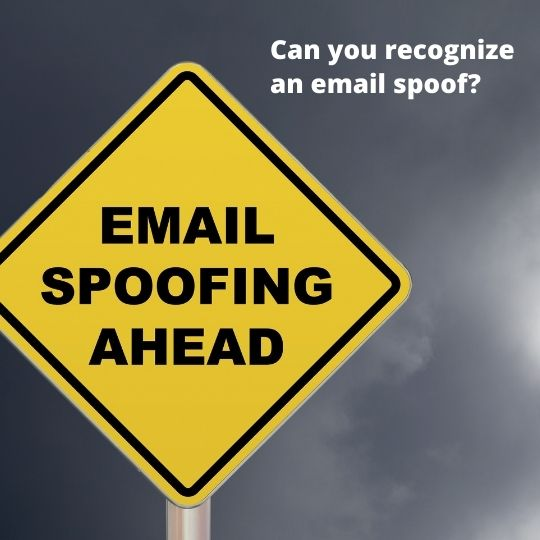 Can You Spot an Email Spoof?